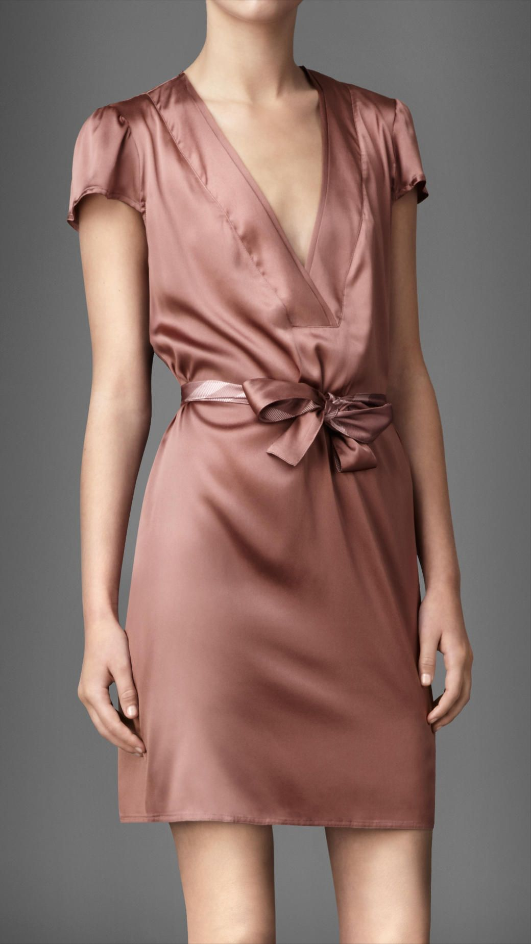 Burberry stretchsilk night dress style casual pinterest