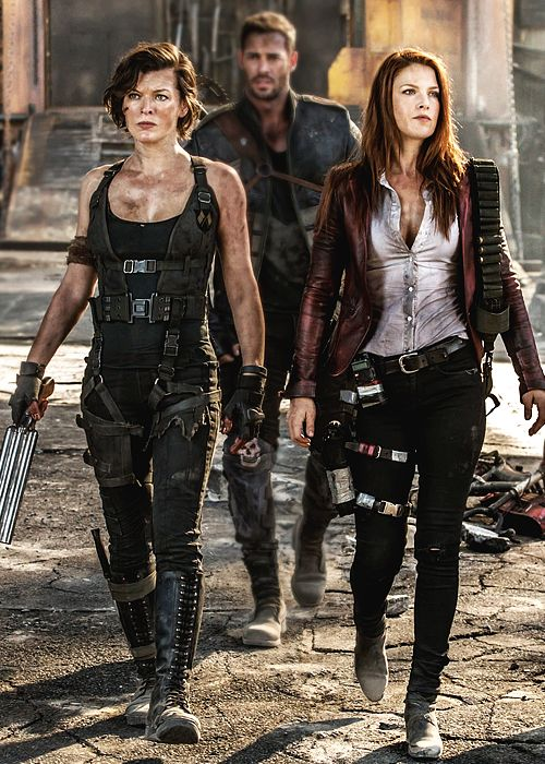 Resident Evil Final Chapter Resident Evil Movie Series Resident