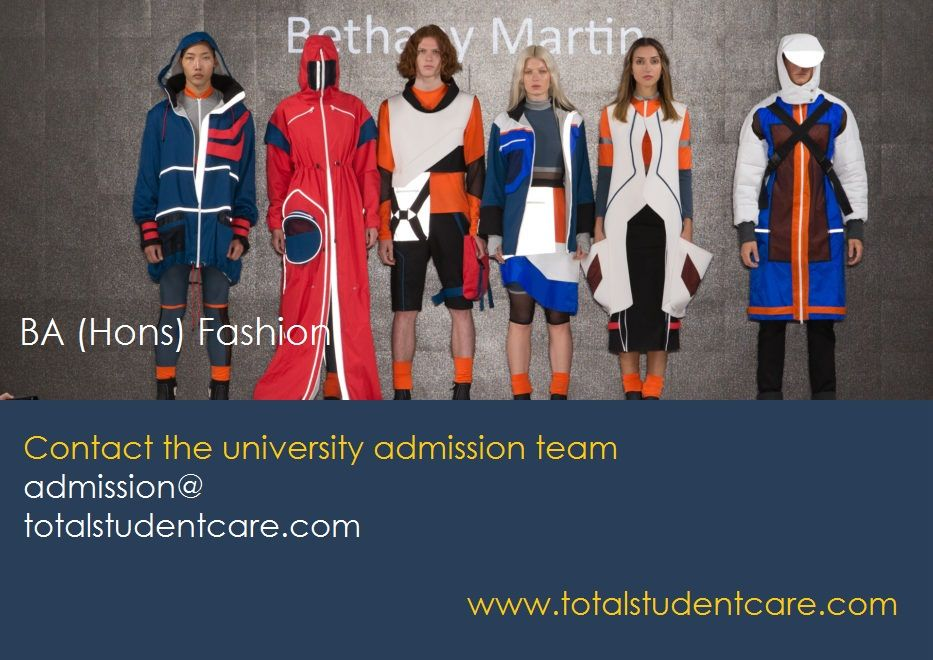 Ba Hons Fashion Study In The Uk For Admission Apply Now Admissions University Admissions Study Style