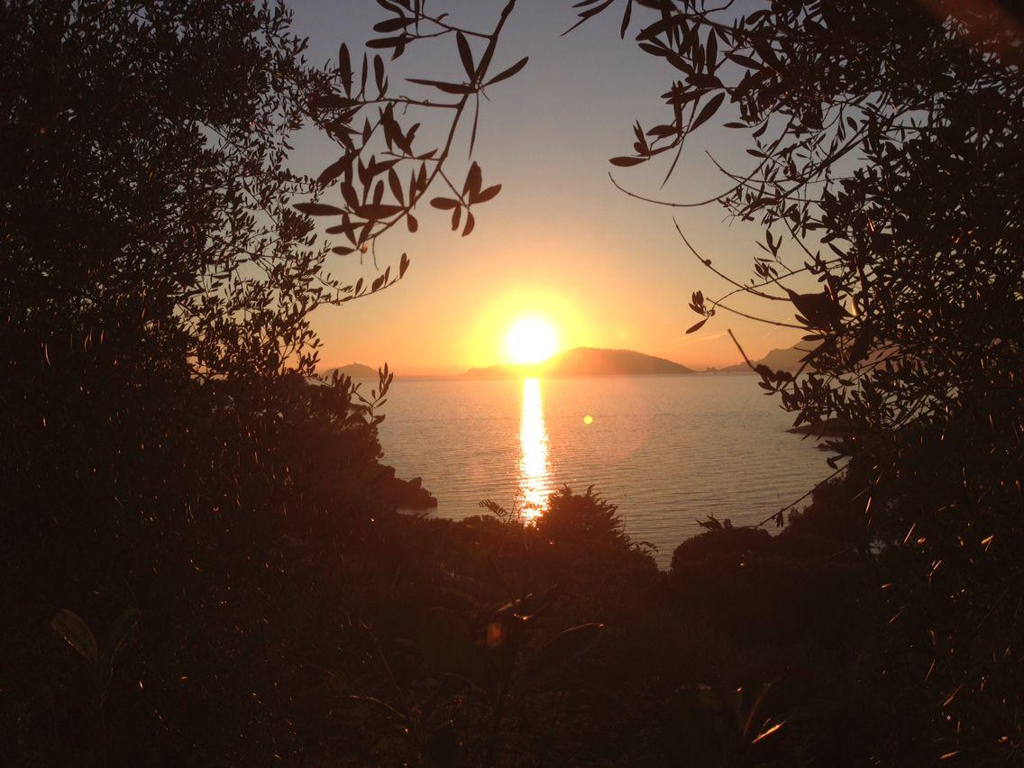 Tramonto isola Palmaria