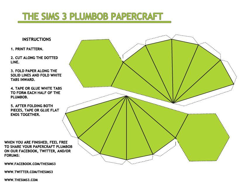 It's just an image of Refreshing Sims Plumbob Template Printable
