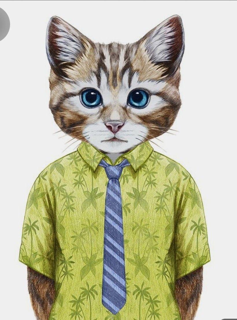 Pin By Karita Celli On Kedi In 2020 Cat Artwork Cat Art Cat Illustration
