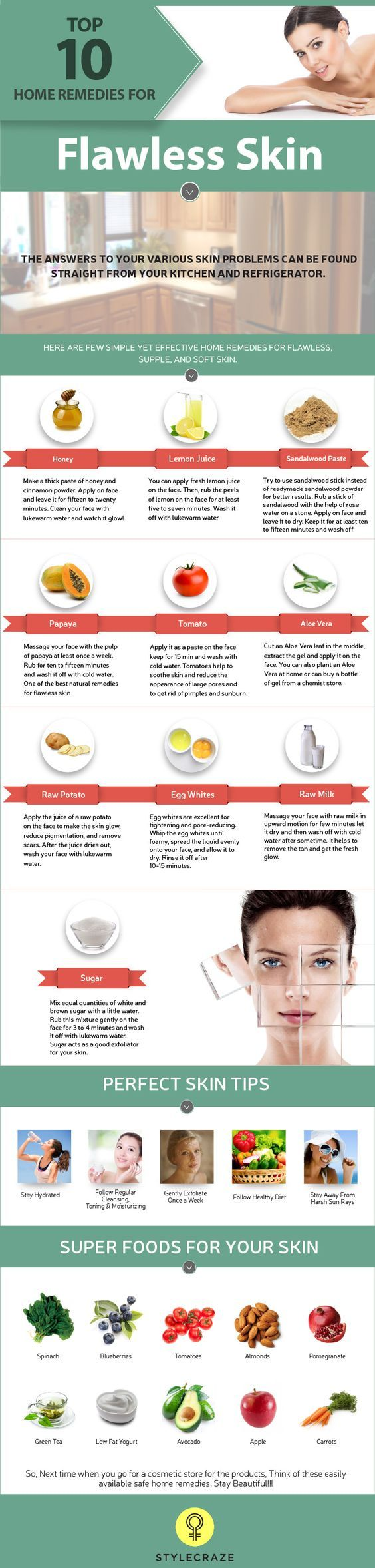 How To Get Flawless Skin – 12 Home Remedies in 1212  Flawless