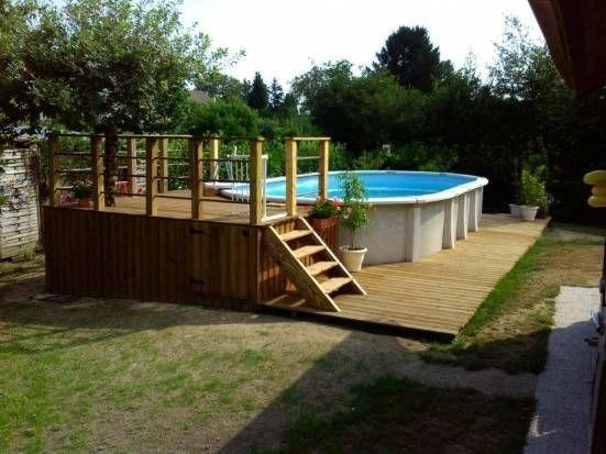R sultat de recherche d 39 images pour habillage piscine hors sol intex pinterest piscine - Habillage piscine hors sol tubulaire ...