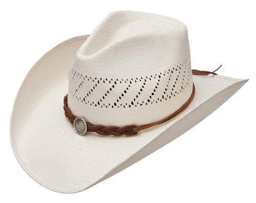 102800b6e45 Stetson Hawkins Straw Hat  SSHWKS-4034