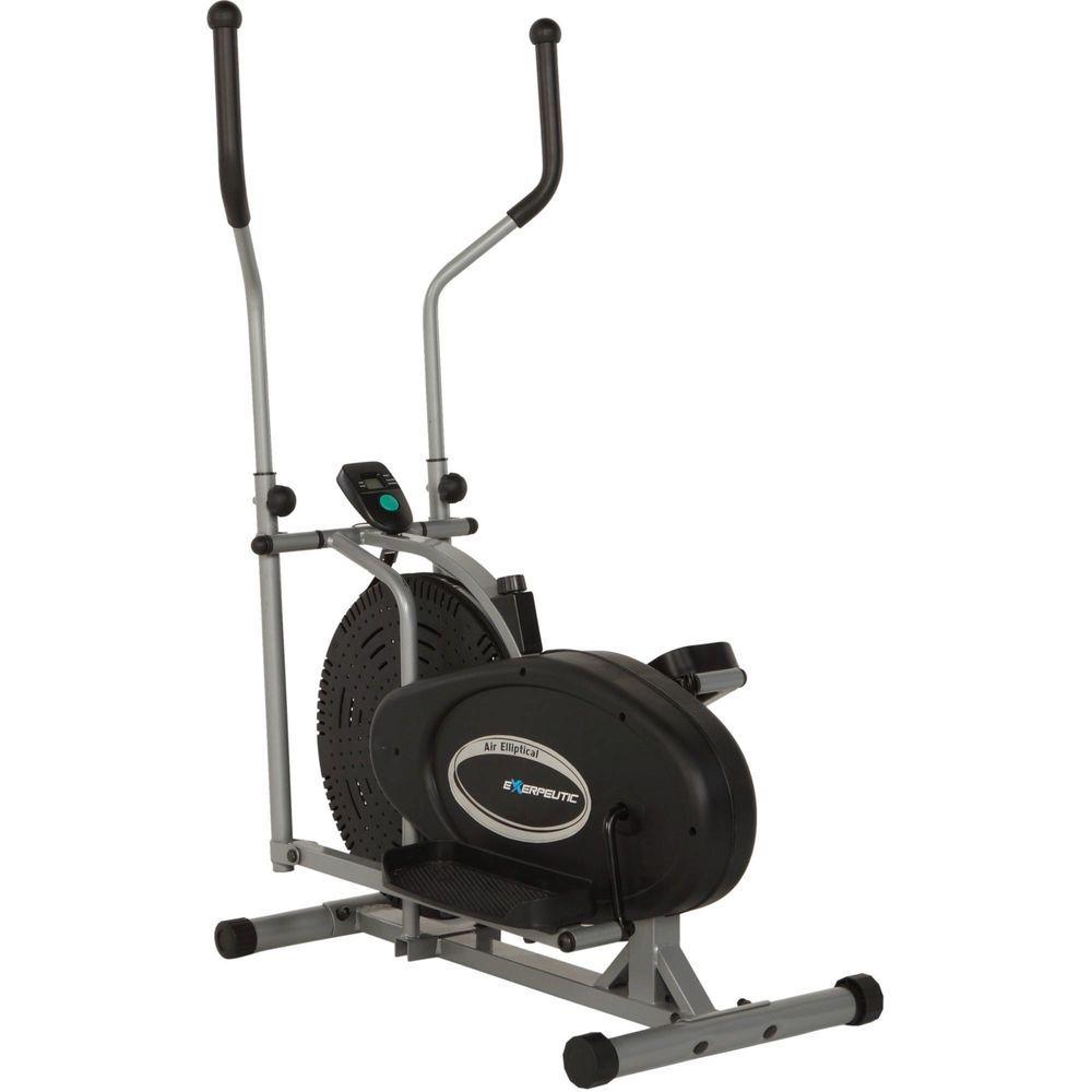 Elliptical Fitness Trainer Machine Exercise Lower Upper Body