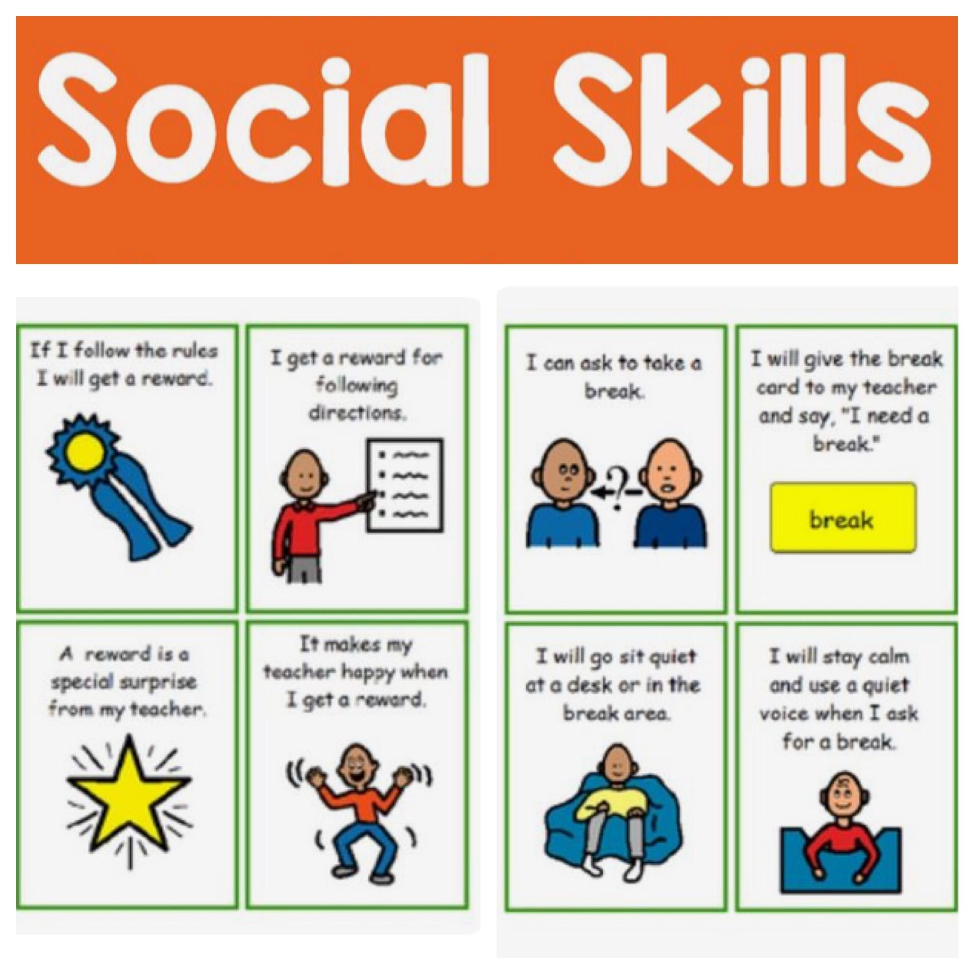 Ideas for the Special Education Classroom Tons of Social Skill