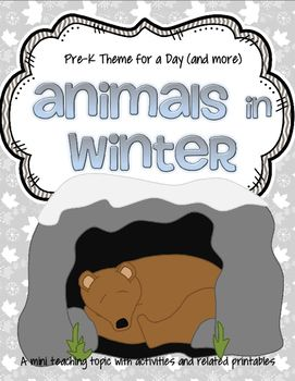 animals in winter activities and centers for preschool and pre k kidsparkz new activities for. Black Bedroom Furniture Sets. Home Design Ideas