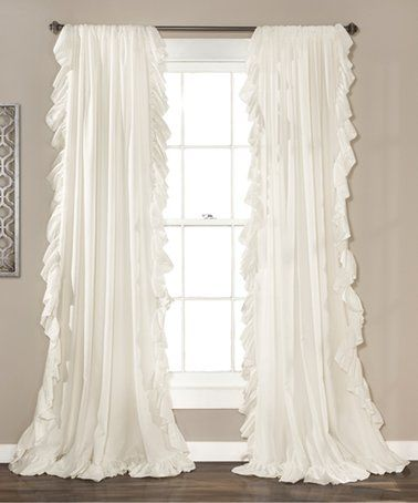 27 99 Marked Down From 90 White Reyna Curtain Panel