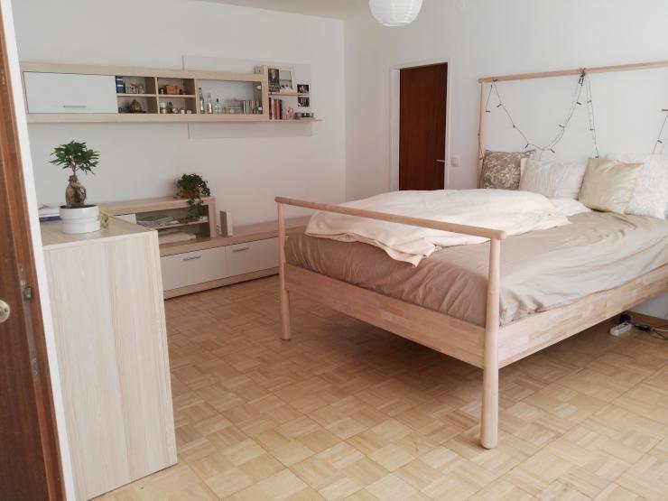 Möbelstücke Aus Naturholz Sind Derzeit Sehr Beliebt In WG Zimmern. Sie Sind  Dezent Und