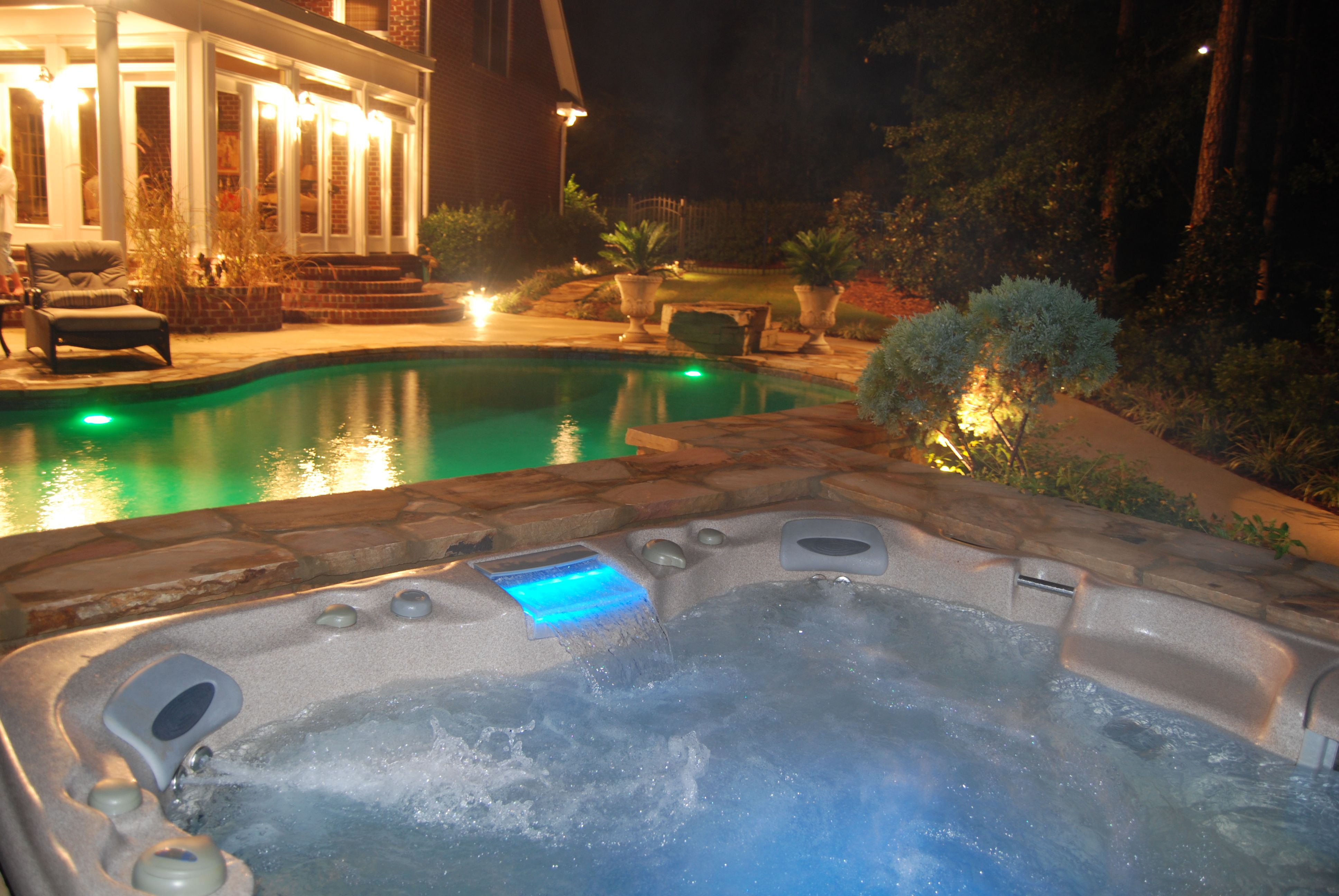 Pin by Pete Alewine Pool & Spa on Hot Tub Enclosure | Pinterest ...