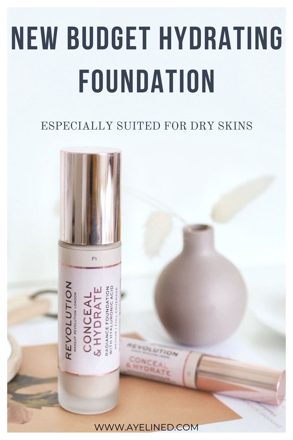 New Drugstore Hydrating Makeup Range to Try! Hydrating