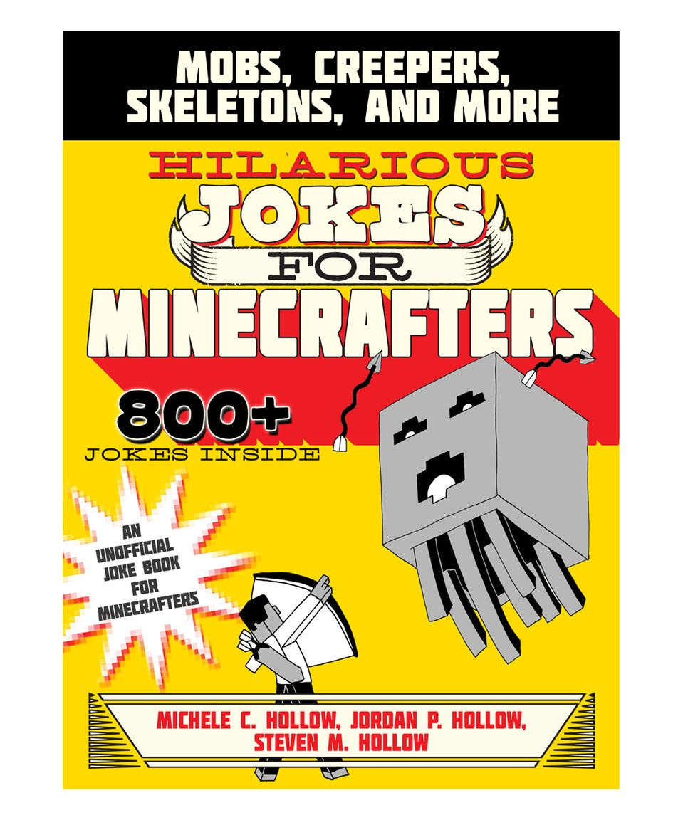 Skyhorse Publishing Hilarious Jokes for Minecrafters Paperback ...