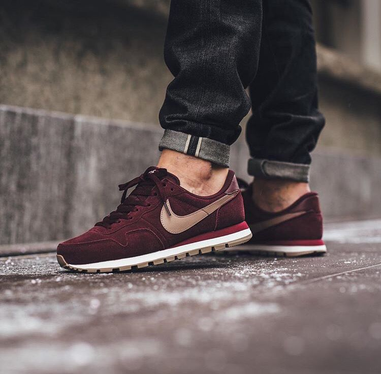 huge discount 1e860 c1f7b Nike Air Pegasus  83 Leather - Night Maroon Malt