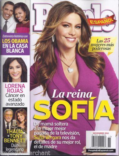 Sofia Vergara for People en Espanol Magazine, November 2012 ...