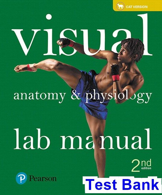 Visual Anatomy and Physiology Lab Manual Cat Version 2nd Edition ...
