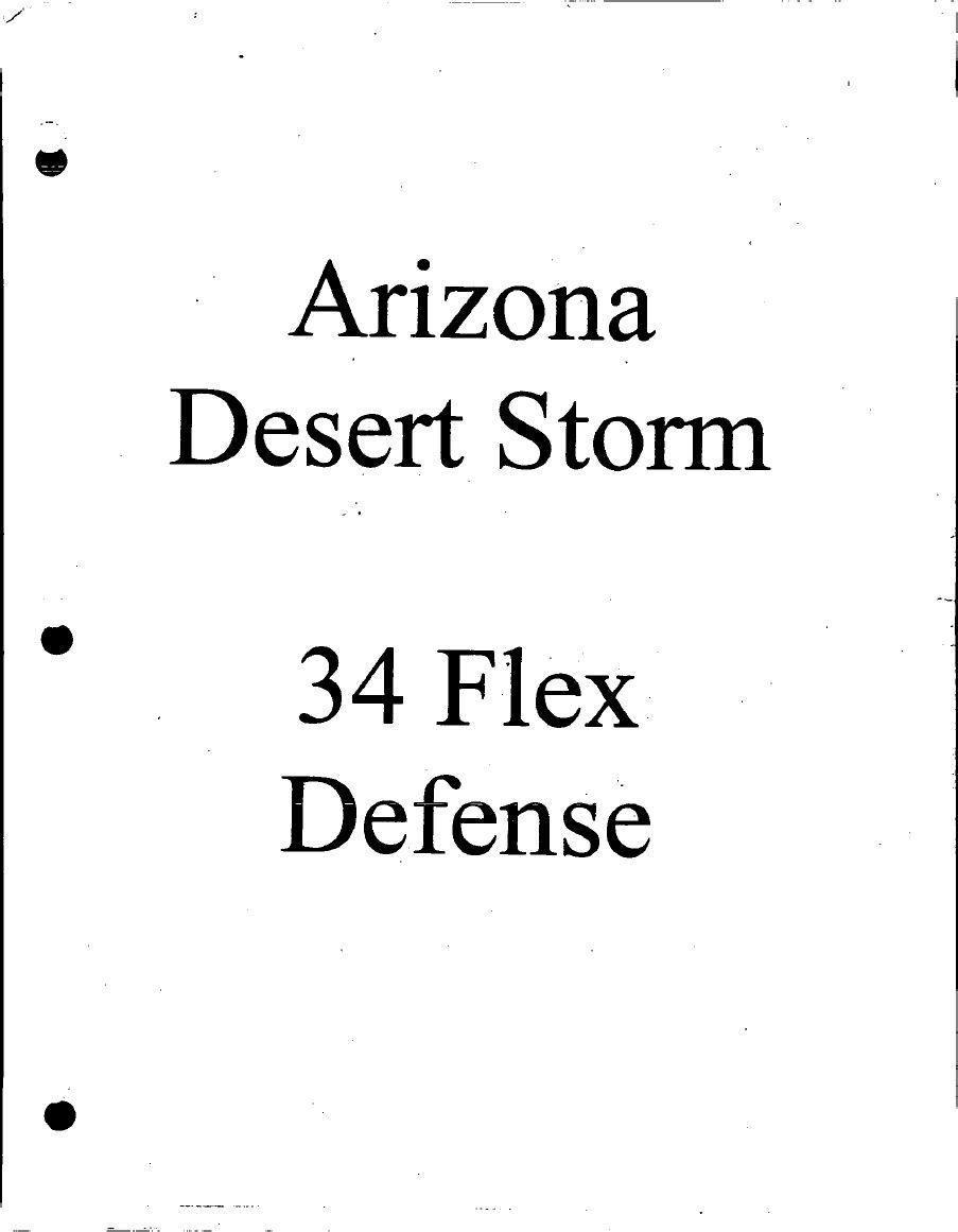 Arizona Desert Swarm 34 Flex Defense Football Drills, Coaching, Arizona,  Deserts, Plays