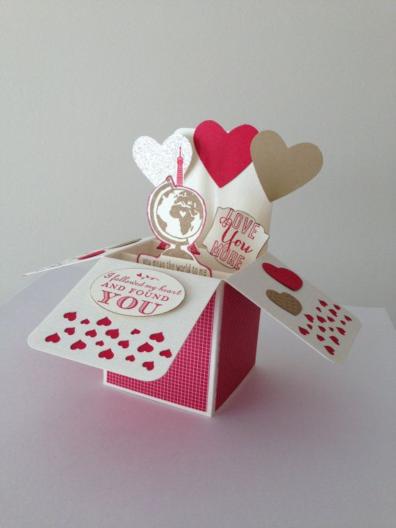 Handmade Valentine S Pop Up Card Handmade By Deeshandcrafted With