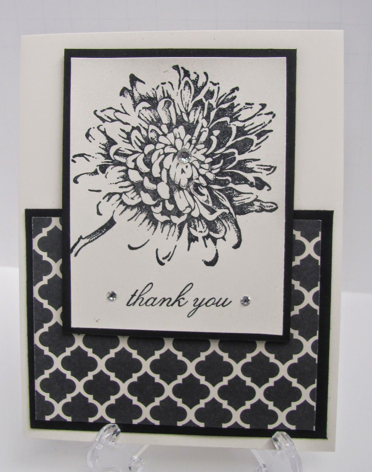 Personally Yours : Stampin' Up! Class Projects: Black  White June Class