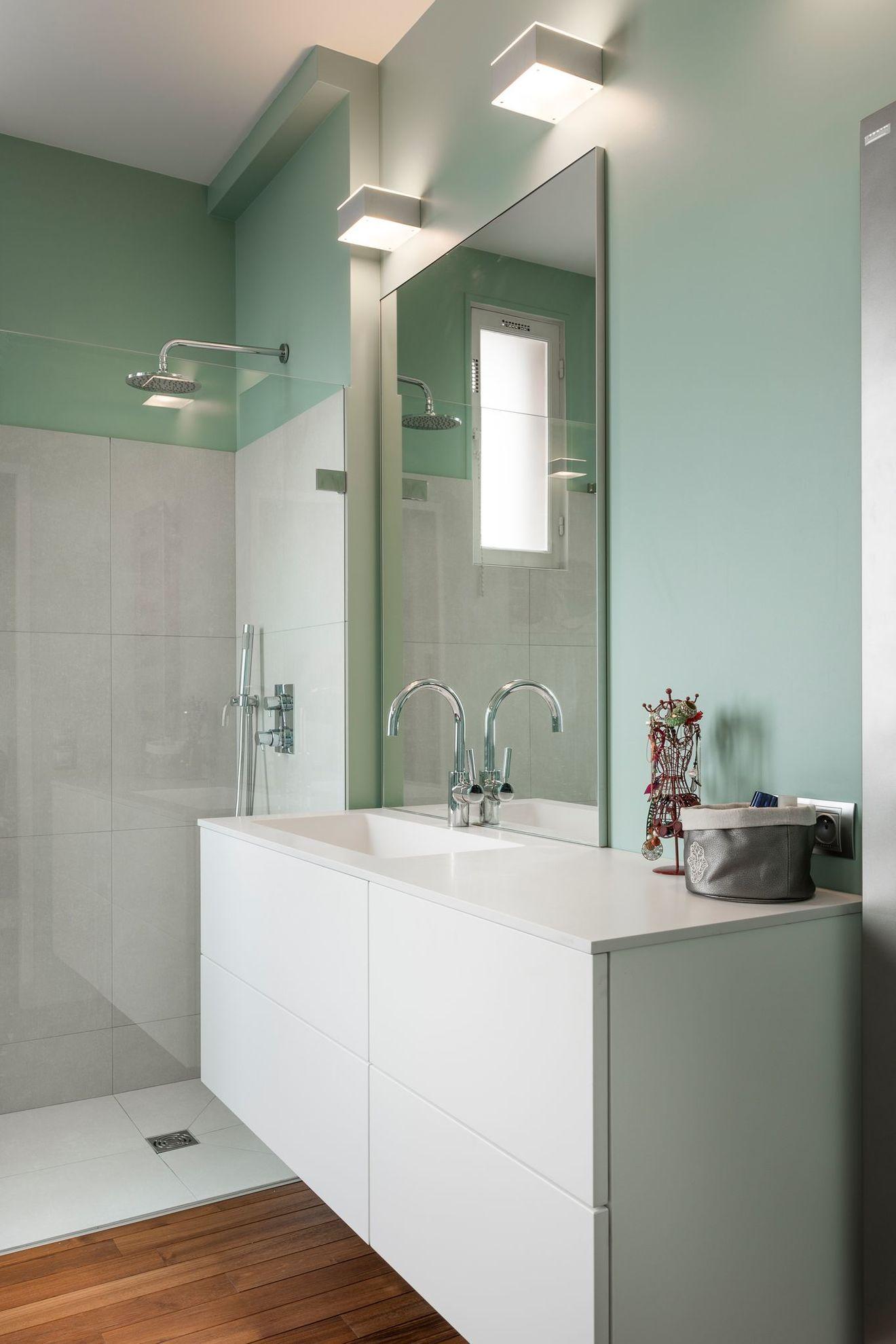 Salle de bain sans fenetre, sombre : solutions pour plus ...