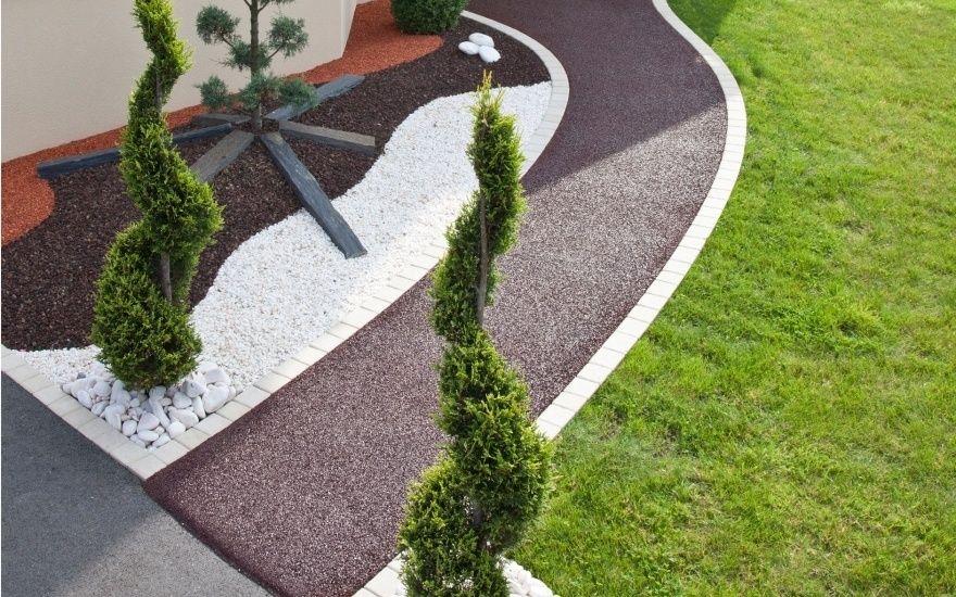 Projet du0027aménagement du0027allée de jardin en stardraine® #JARDIN