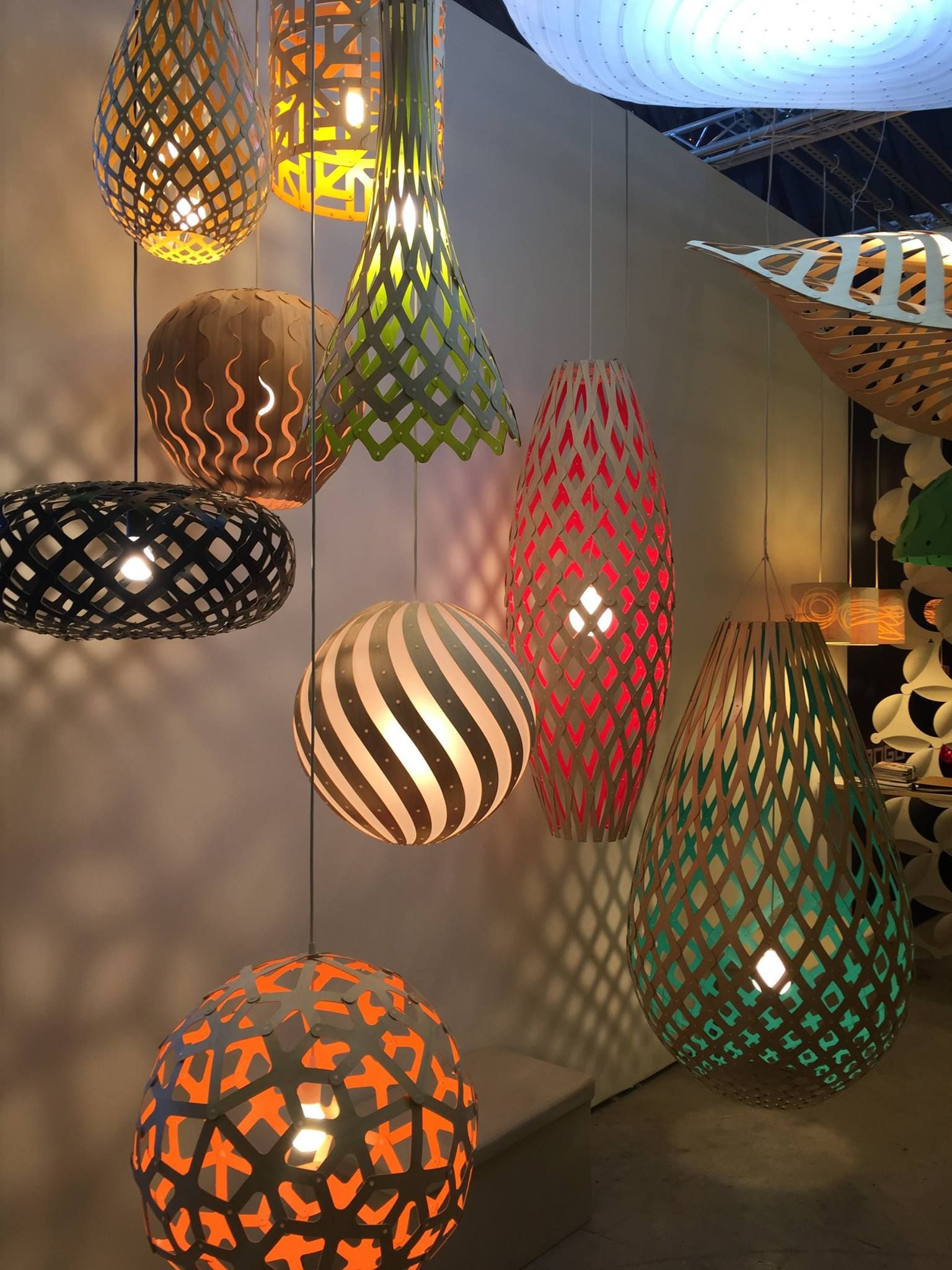David Trubridge Pendant Lighting At BDNY Click Here On Where To - Where to buy pendant lights