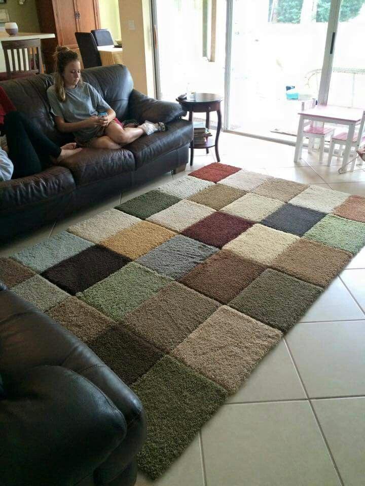 Sample Rugs And Gorilla Duct Tape Area Rugs Diy Diy Carpet Carpet Samples
