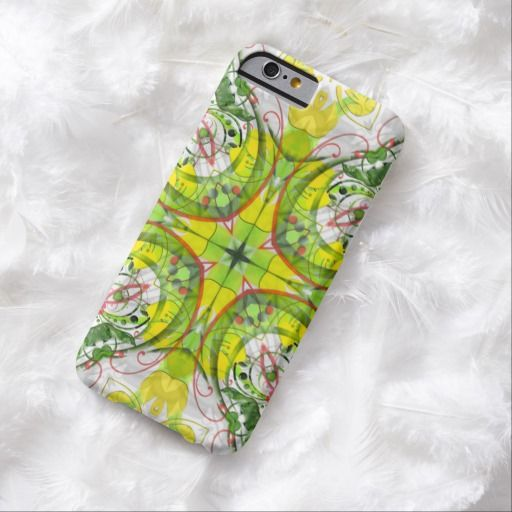 Spring Abstract in Green & Yellow Barely There iPhone 6 Case