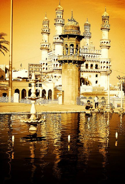 Mecca Masjid India. Photographer: Dreamzzz. This photo was taken on December 15, 2007 in Hyderabad, Andhra Pradesh