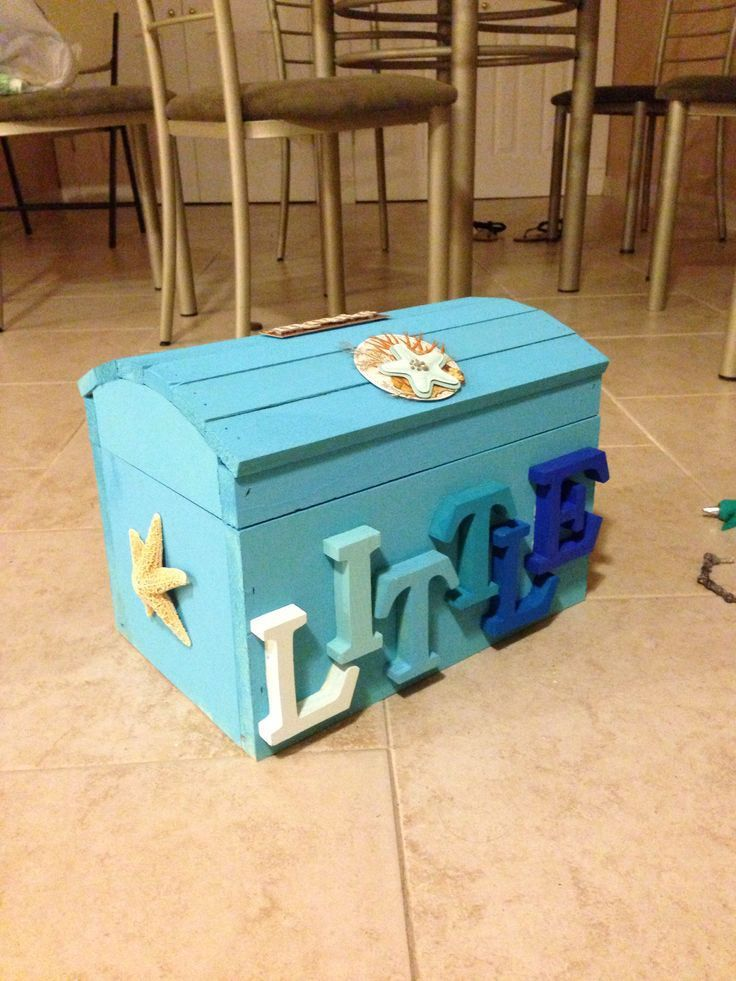 Treasure Chest Of Crafting Perfect For All Things Under The Sea Trident Dolphin