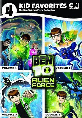 4 Kid Favorites The Ben 10 Alien Force Collection Ben 10 Alien Force Ben 10 Favorite Child