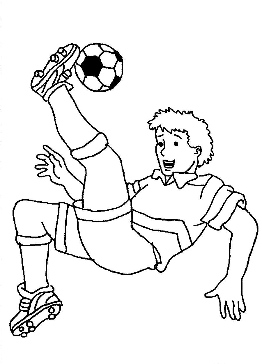 Free Printable Soccer Coloring Pages For Kids Sports