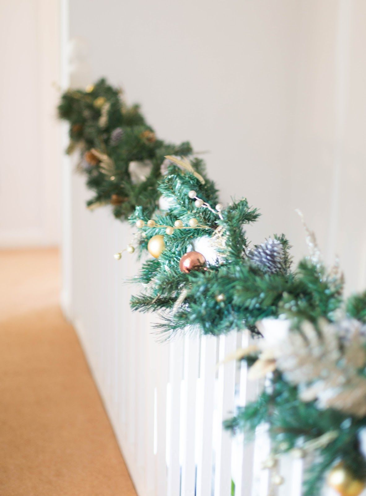 the christmas edit garlands and christmas decor
