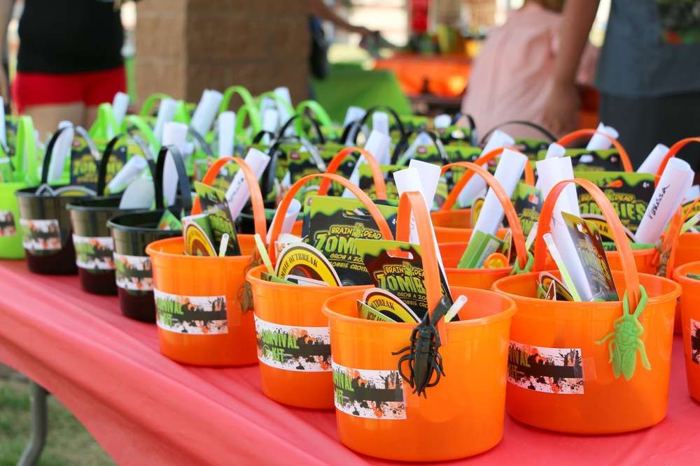 Nerf Zombie Birthday Party Favors See More Ideas At CatchMyParty