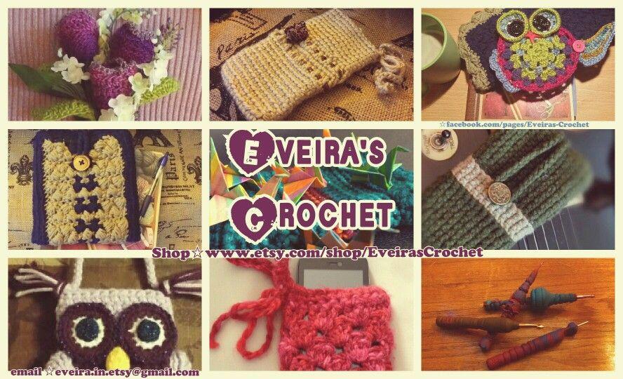 Pin de Eveira Prados en Eveira\'s Crochet Etsy Store | Pinterest