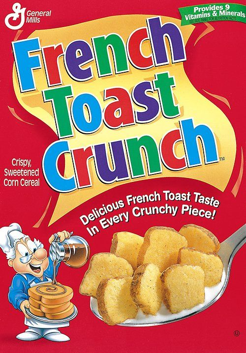 Image result for french toast crunch 90s