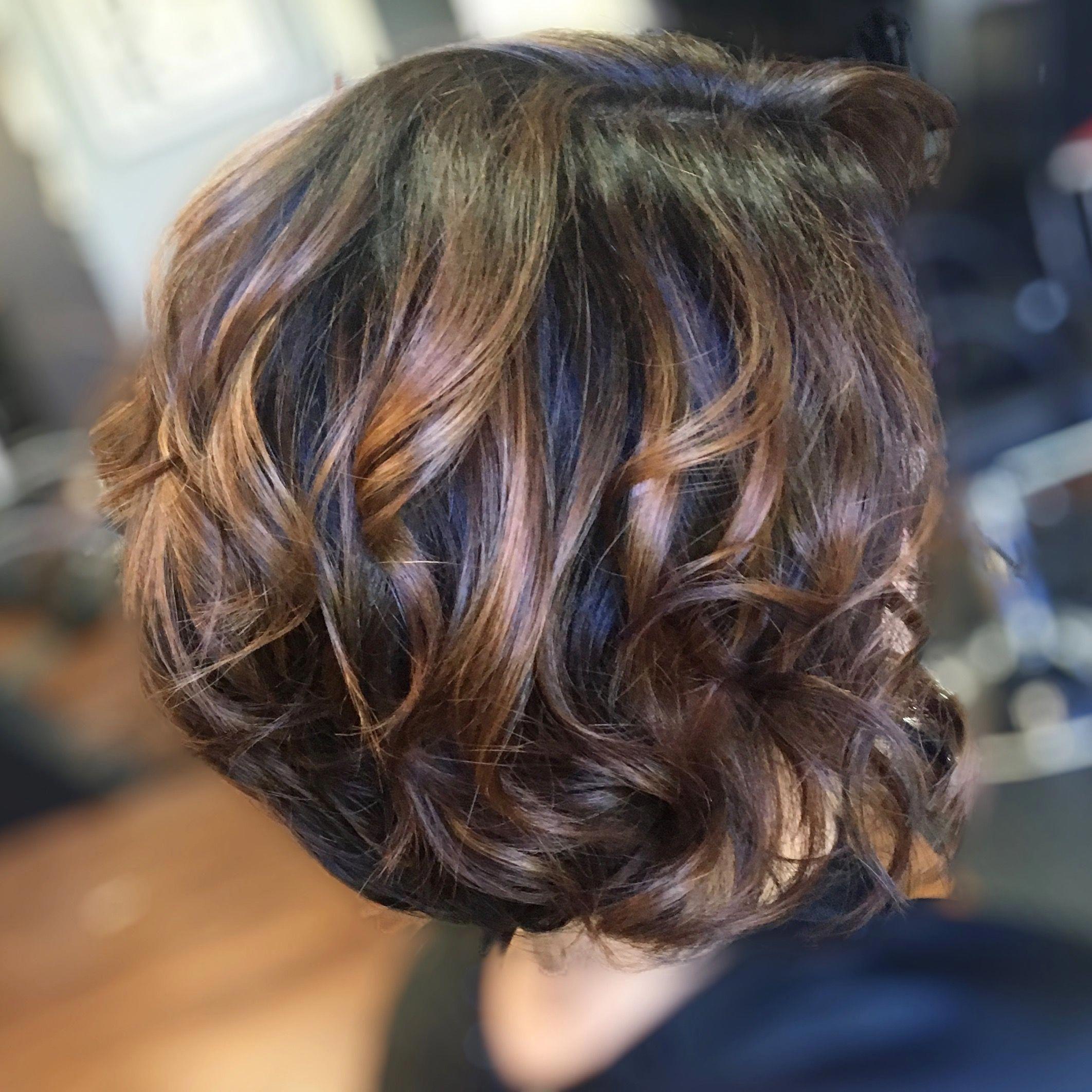 caramel balayage short hair #caramelbalayageshorthair