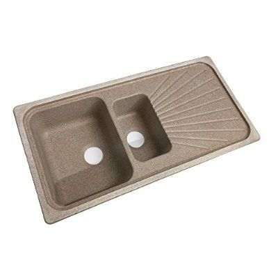 Swanstone Euro Kitchen Sink Food Strainer Included KSEU-3020-Ironweed
