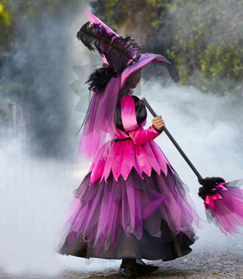 pretty pink witch girl costume - Chasing Fireflies | Costumes ...