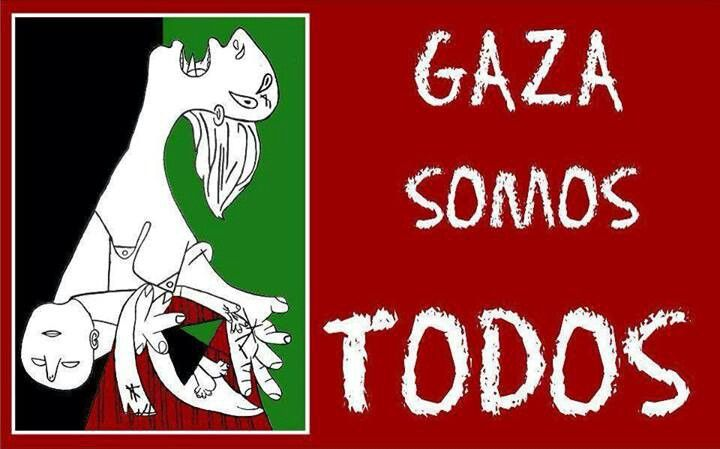 #PazparaPalestina