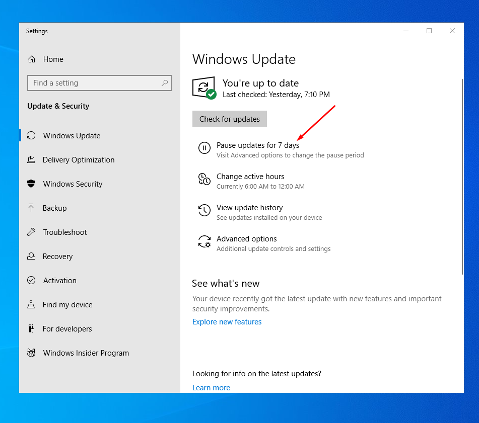 22++ How to resume windows 10 update Examples