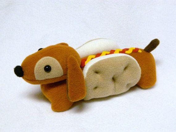 Wiener Dog Plush Toy Animal Pet Toys Handmade Stuffed Animals
