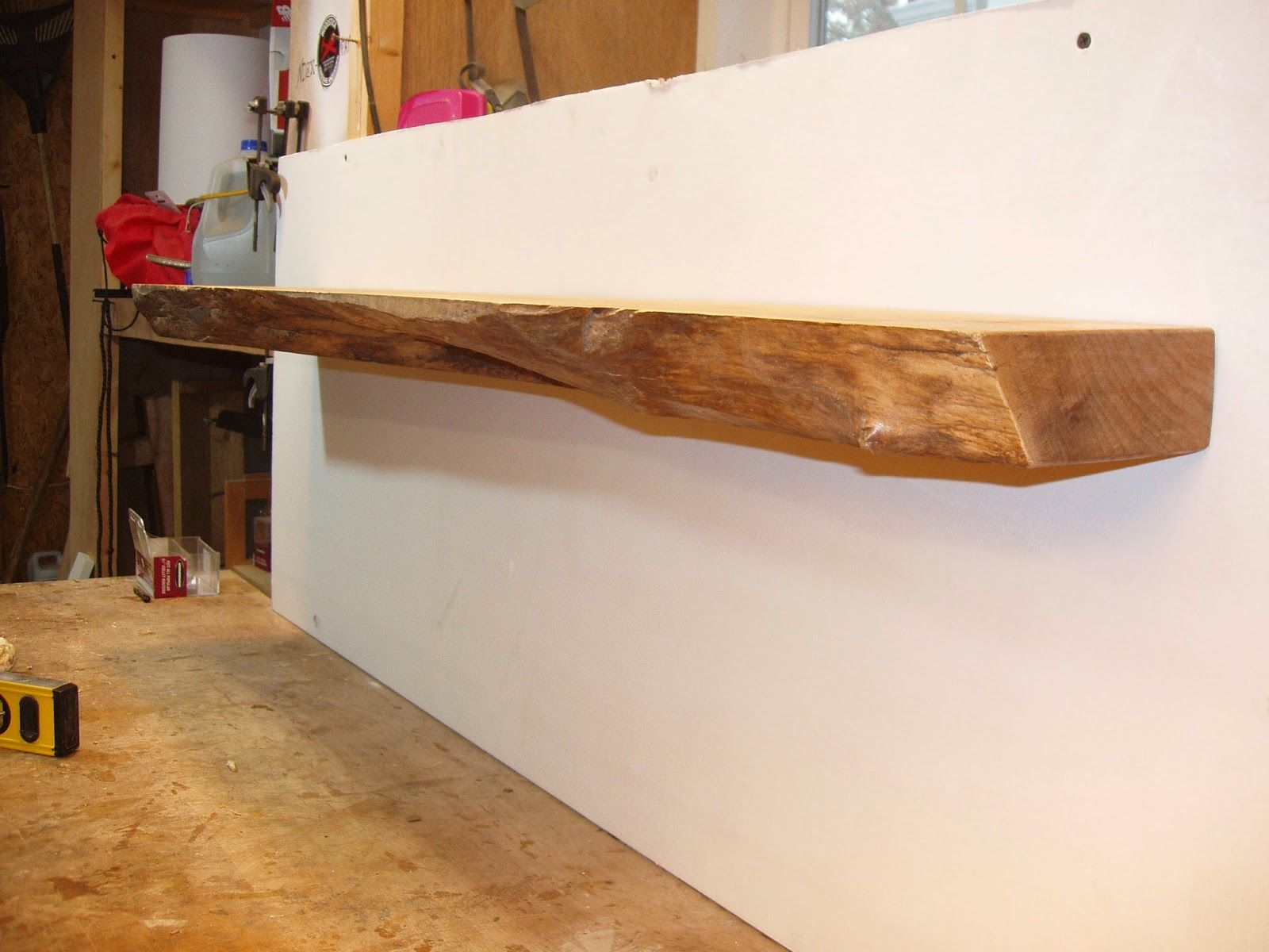 Western Maple Mantel Driftedge Woodworking Live Edge