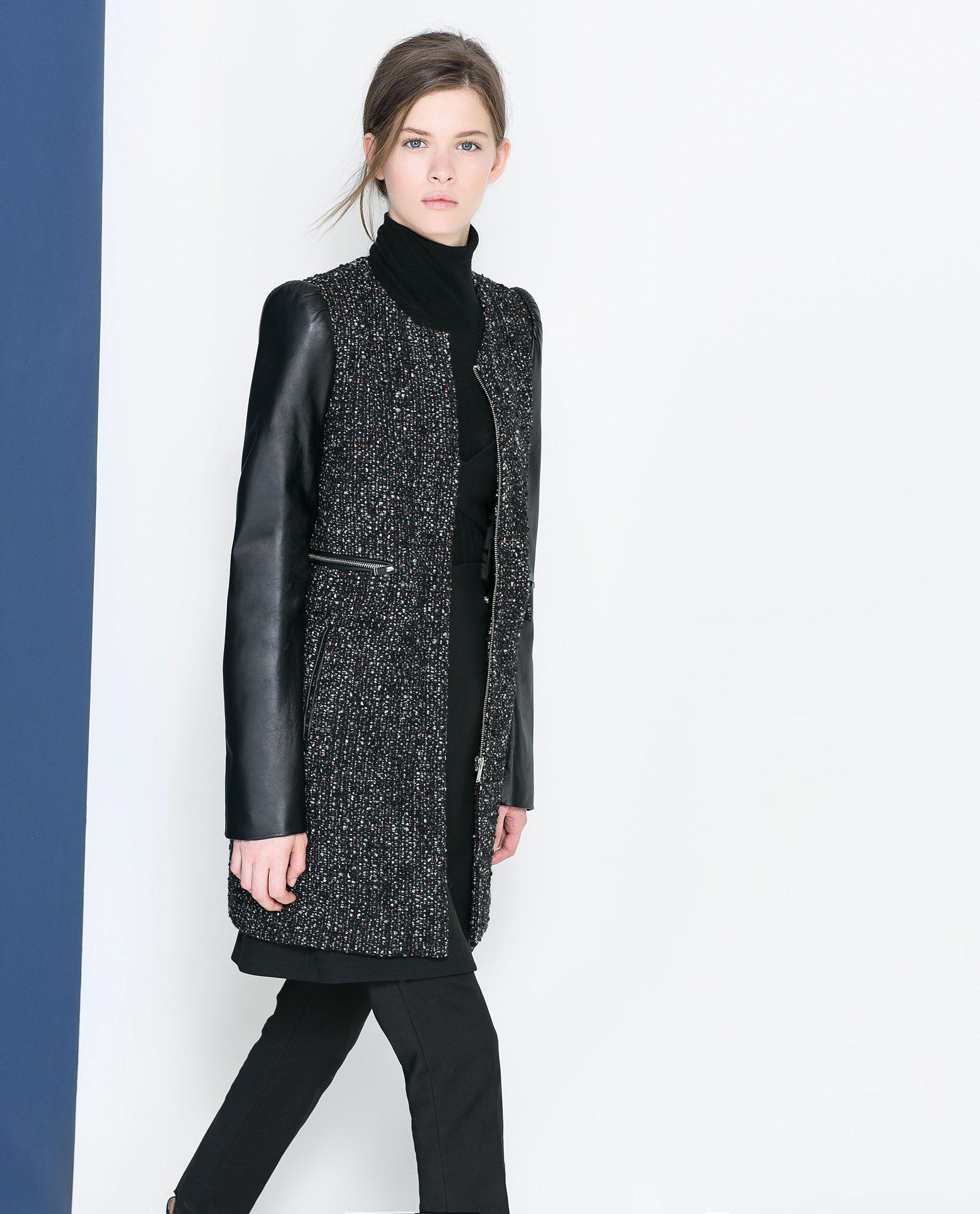 Резултат со слика за photoos of women elegant coats ZARA 2010
