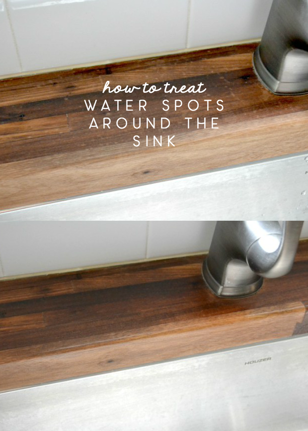How To Treat Water Spots On Butcher Block Counters Ugly