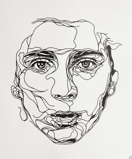 Contour Line Drawing Demo : Untitled flickr photo sharing spiration pinterest