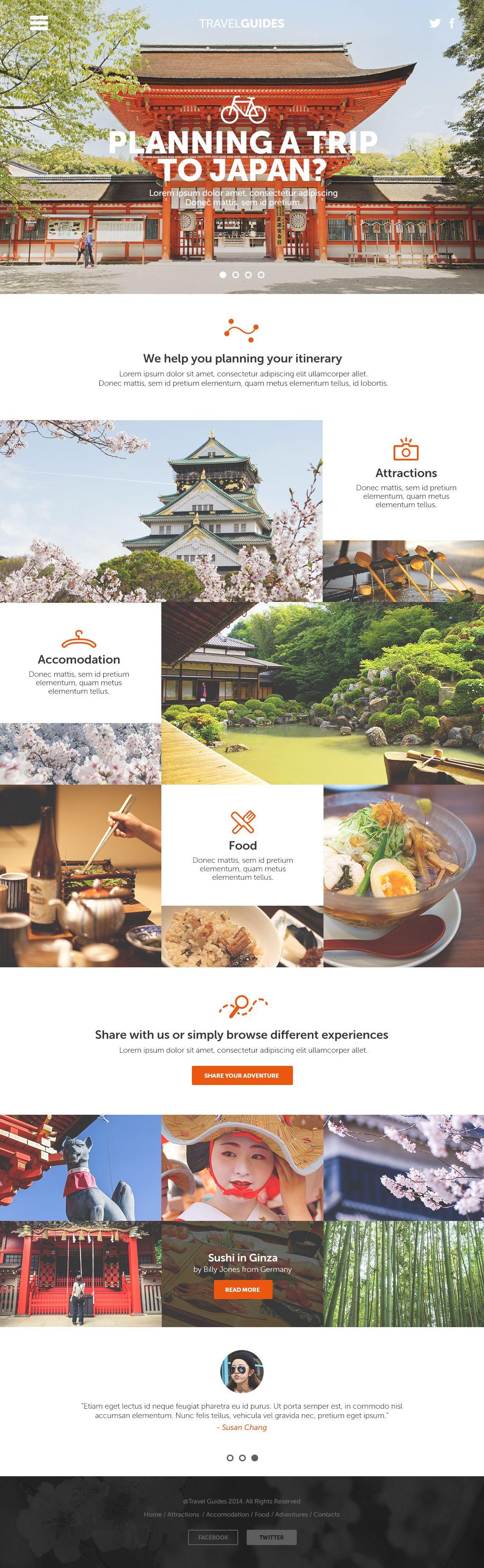 Japan Travel Website