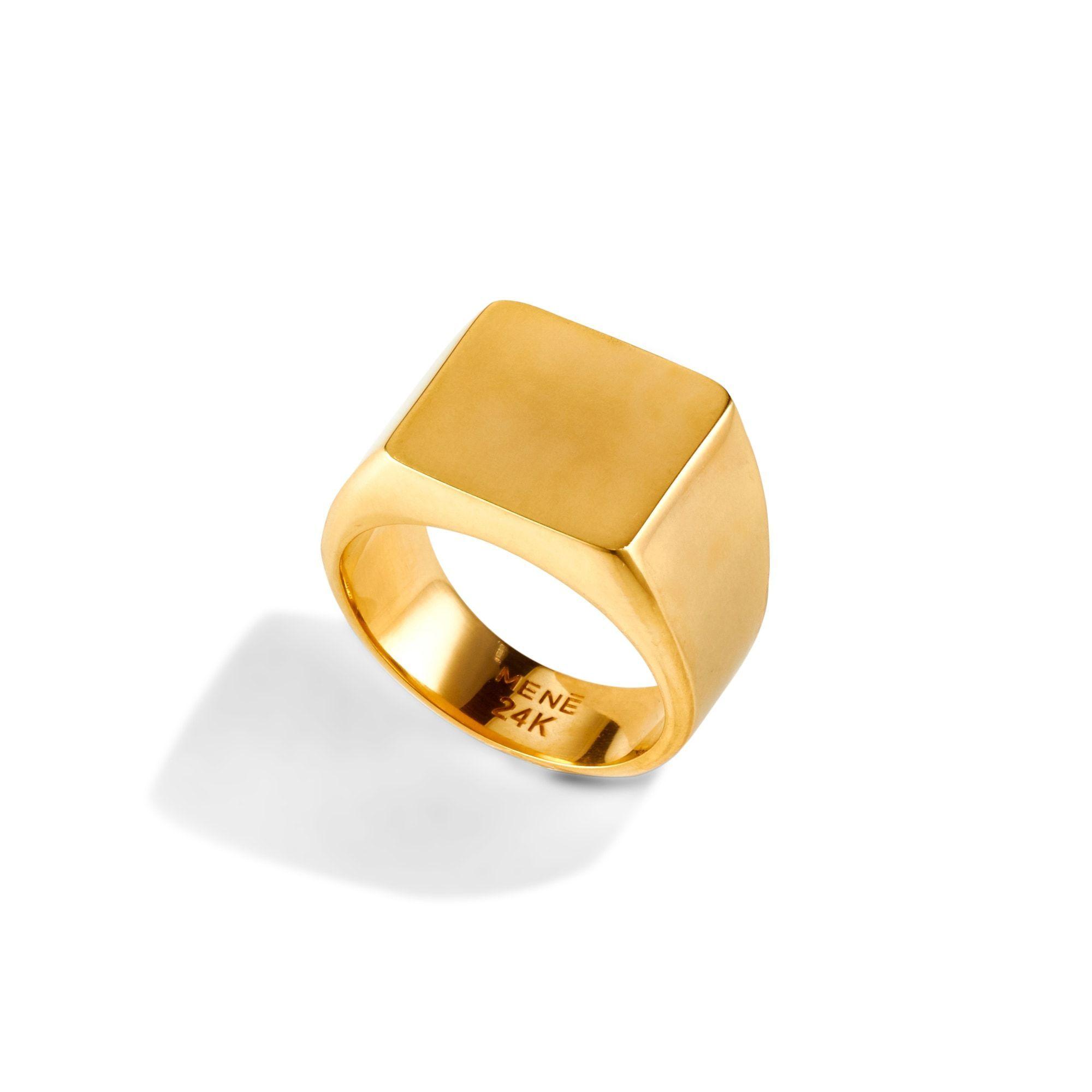 Square Signet Ring Signet Ring Signet Ring Men Signet