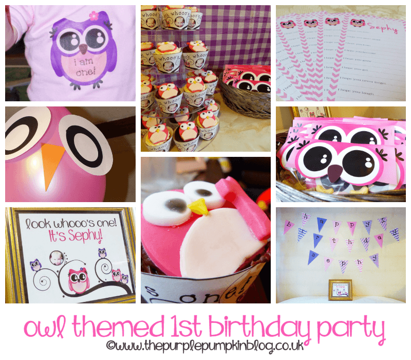 Owl Themed 1st Birthday Party 1st birthday parties, Owl