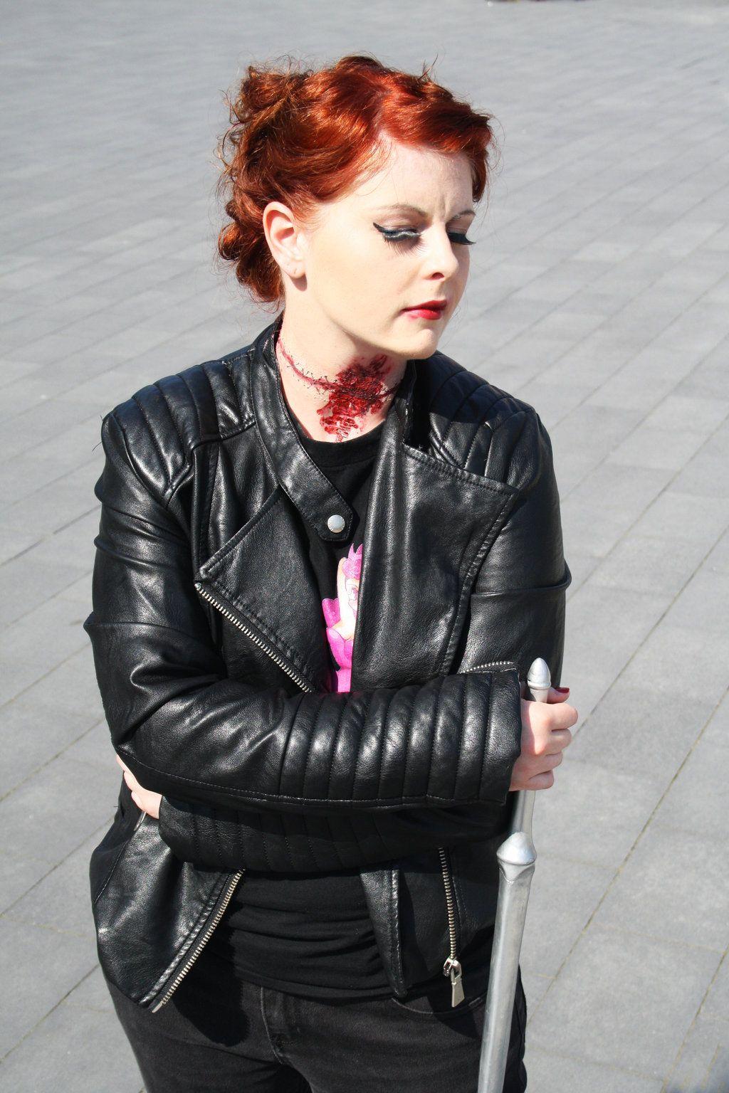 Abaddon #SPN Met Alaina Huffman at #seacon yesterday! (3 ...   Abaddon Supernatural Cosplay